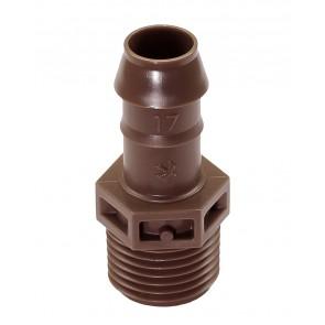 "Adap 1/2"" p/tubo gotejador XF"