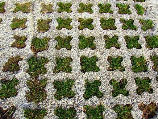 pavimento verde