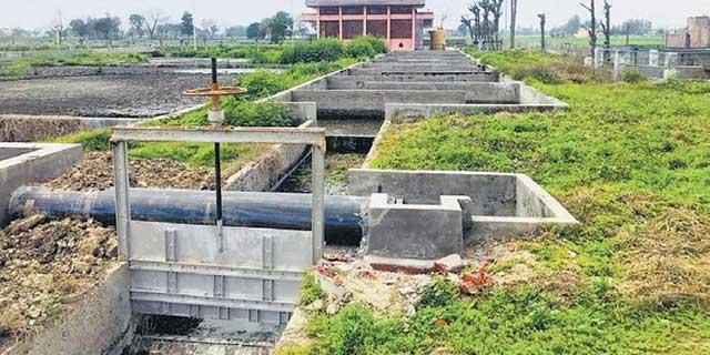 Estação de tratamento de esgoto para irrigação